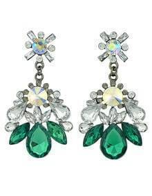 Latest Design Mix Color Elegant Women Fashion Stone Earrings