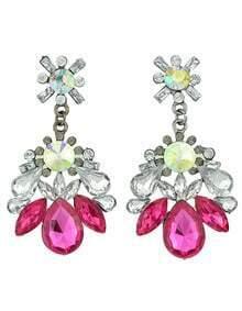 Latest Design Mix Color Elegant Women Fashion Stone Earrings