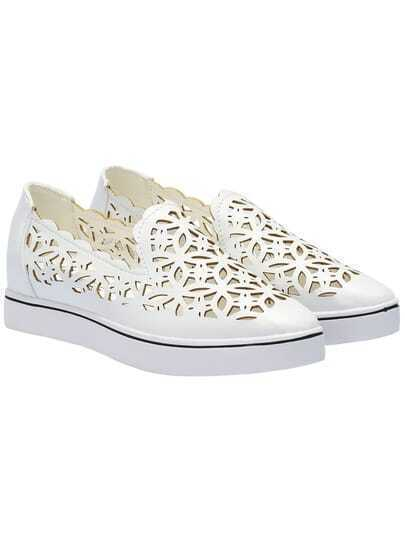 White Hollow Hidden Platform Flats