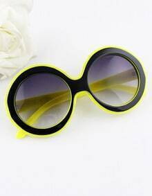New Designer Unisex Vintage Candy Color Frame Round Sunglasses