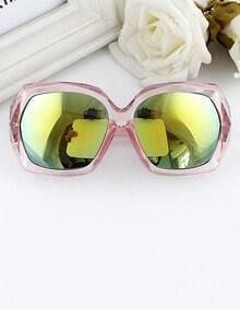 Multicolor Fashion Acetate Frame PC Wrap Sunglasses