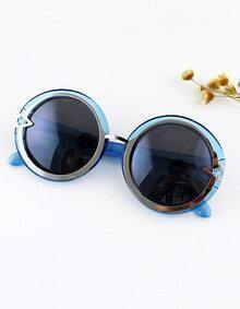 Fashion Trends Multicolor Chunky Round Shape Sunglasses With Boxes Sunglasses