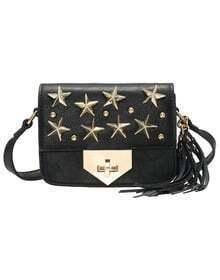Black Star Rivet Shoulder Bag