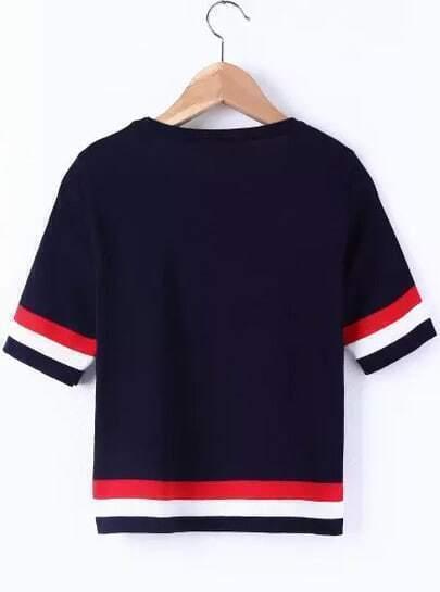 Jupe courte en tricot femme AJC - Gris Anthracite Chin