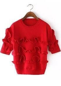 Fungus Edge Red Sweater