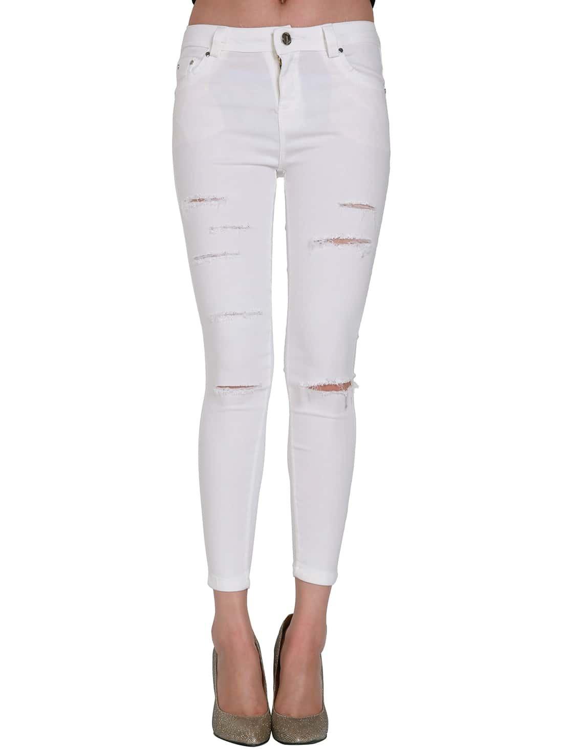 Вобтягивающих белых штанах фото 645-130