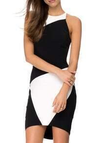 Color-block Bodycon Dress
