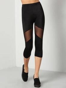 Black Skinny Elastic Legging