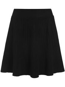 Black Vintage Knit Skirt