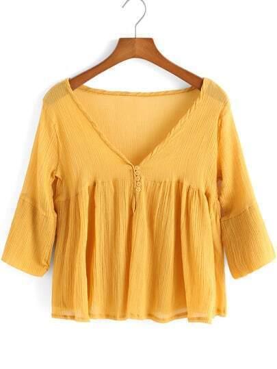 Блузка Плиссированная Доставка