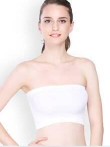 White Simple Casual Corset
