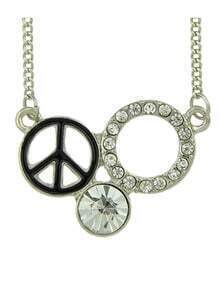 New Fashion Pretty Women Silver Plated Best Friend Pendant Necklace