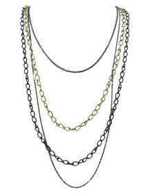Long Dress Chain Necklace
