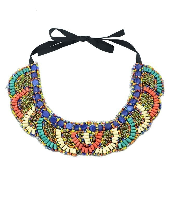 Fashion Bohemian Style Colorful Beads Necklace