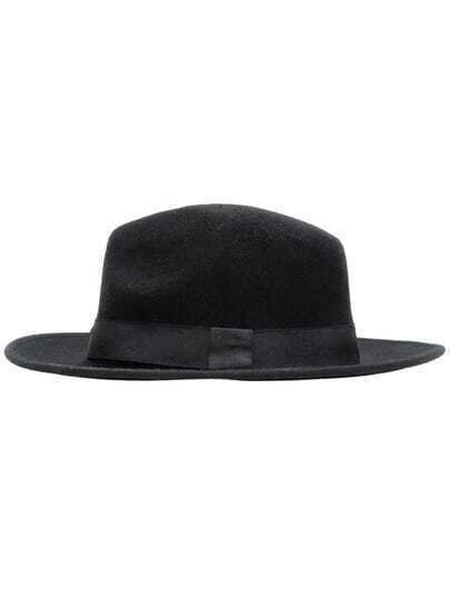 Black Casual Oversize Hat