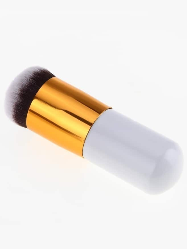 Round Top Gold Mini Brush