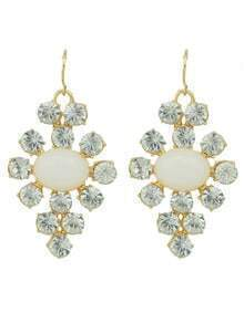 Latest Design Rhinestone Drop Daily Wear Earrings