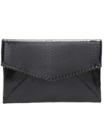 Black Magnetic Serpentine PU Clutches