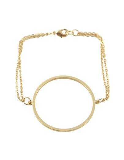 Gold Plated Women Bracelet