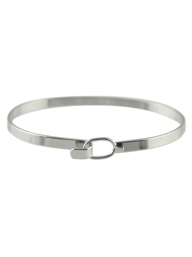 Silver Plated Simple Thin Bracelet