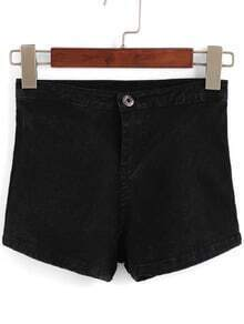 High Waist Slim Shorts