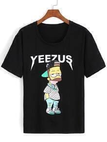 Simpson Print T-shirt