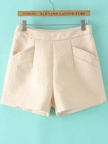 Apricot Pockets Slim Shorts