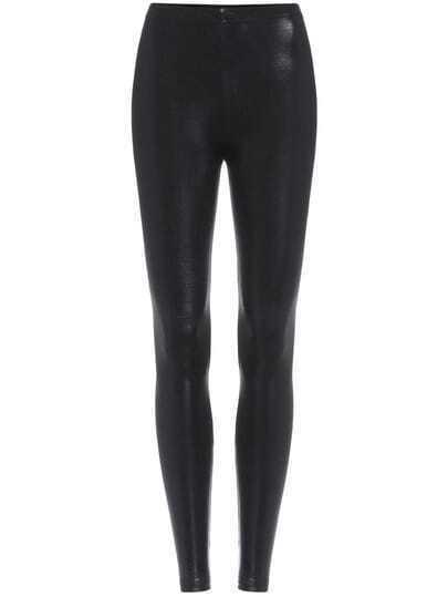 Black Slim Sparkle Leggings