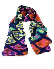 Latest Designs Bohemian Style Colorful Knitted Women Silk Scarf