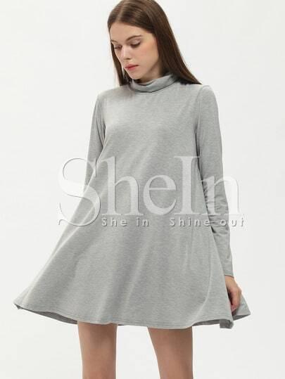 Cowl Neckline Dress