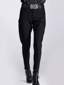 Black High Waist Pant