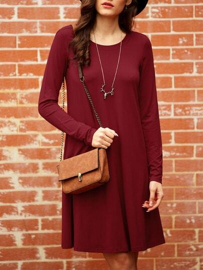 http://www.shein.com/Wine-Red-Long-Sleeve-Casual-Dress-p-232575-cat-1727.html?aff_id=1285