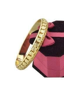 Gold plated Metal Bracelet