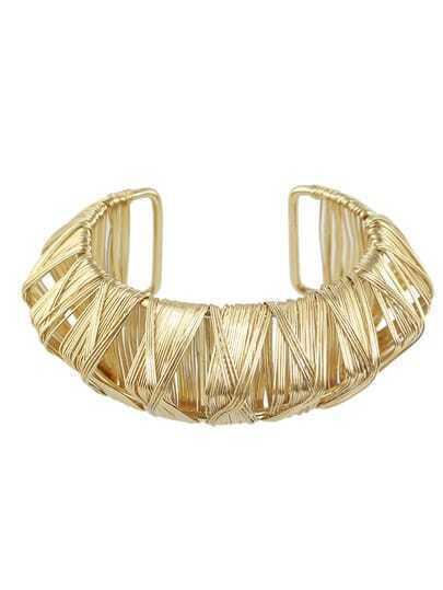 Gold Plated Adjustable Bracelet