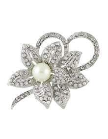 Wedding Party Rhinestone Brooch