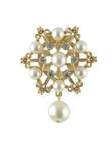 Beautiful Wedding Party Imitation Pearl Brooch