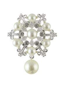 Wedding Party Pearl Brooch