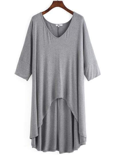 http://www.shein.com/Grey-V-Neck-Dip-Hem-Plus-T-shirt-p-233072-cat-1890.html?aff_id=1285