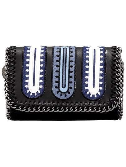 Black Magnetic PU Chain Shoulder Bag