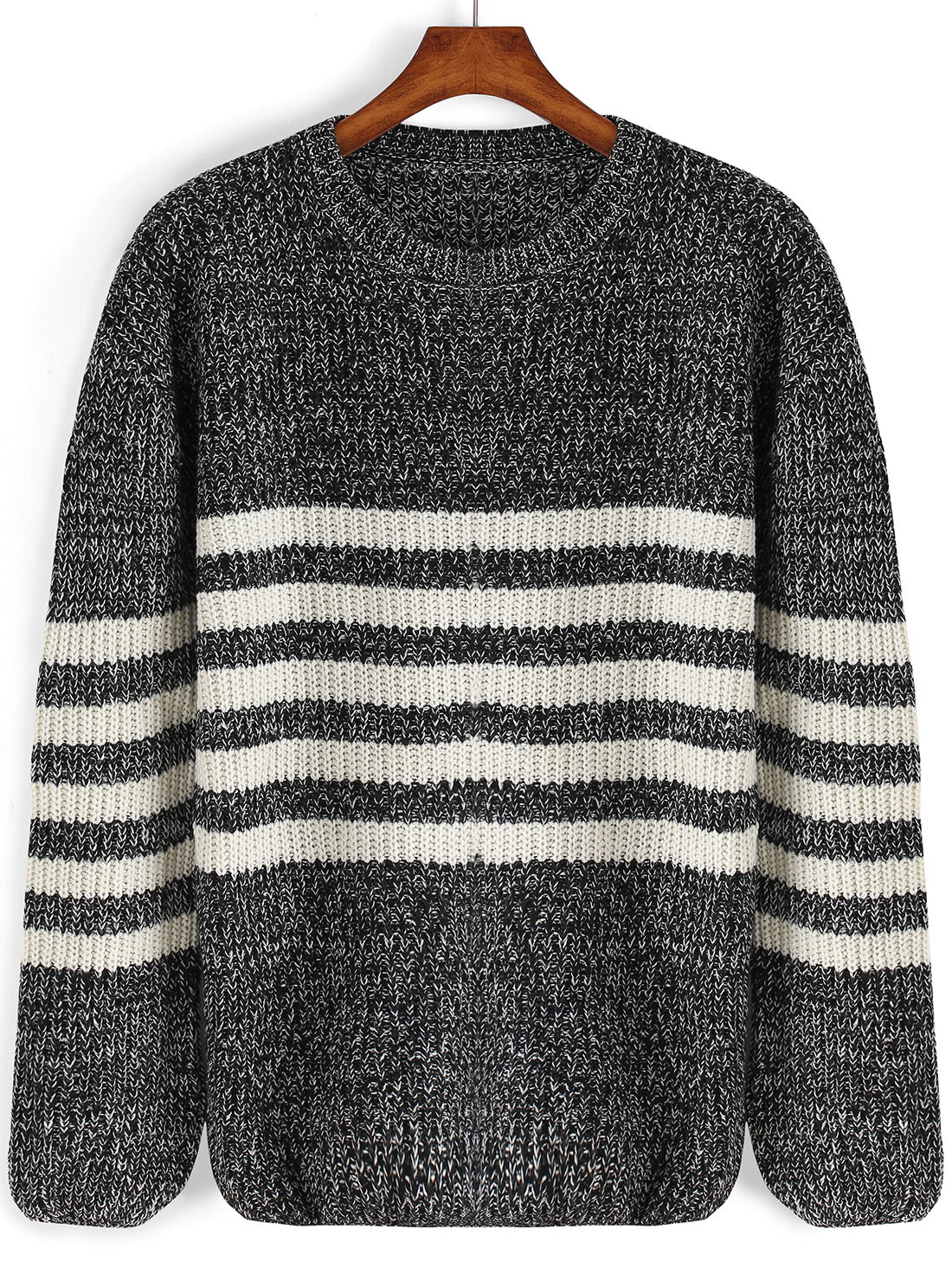 Black on white or brights on neutrals—we've got you covered with amazing women's sweaters featuring subtle to bold stripes. Cultivate a cool, casual wardrobe with breezy knits like lightweight linen pieces for warmer weather, and check out chunkier knits for the colder season.