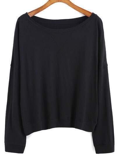 Bat Sleeve Loose T-shirt Tshirt