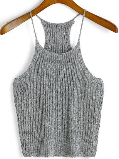 Ribbed Knit Cami Top
