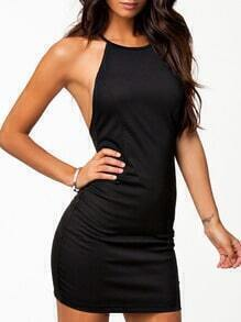 Criss Cross Back Bodycon Dress