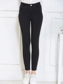 High Waist Slim Pant