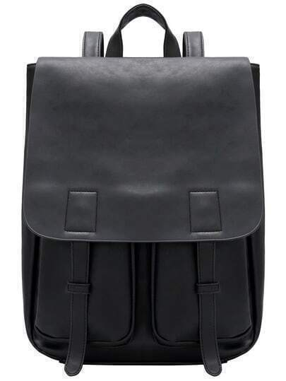 Belt Strap PU Backpacks