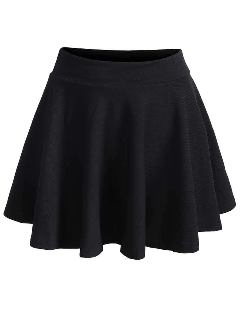 A cute contender for her all-time favorite skirt, featuring dramatic fullness, must-have pockets, and a lovely braided-rope trim. Skirt is soft in cotton poplin, with an easy-on, flat-front elastic waist. Pull-on style. Relaxed fit. Flat-front, elastic-back waistband with tacked .