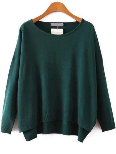 Dip Hem Sweater