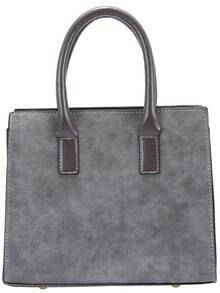 Grey Frosted Tote Bag