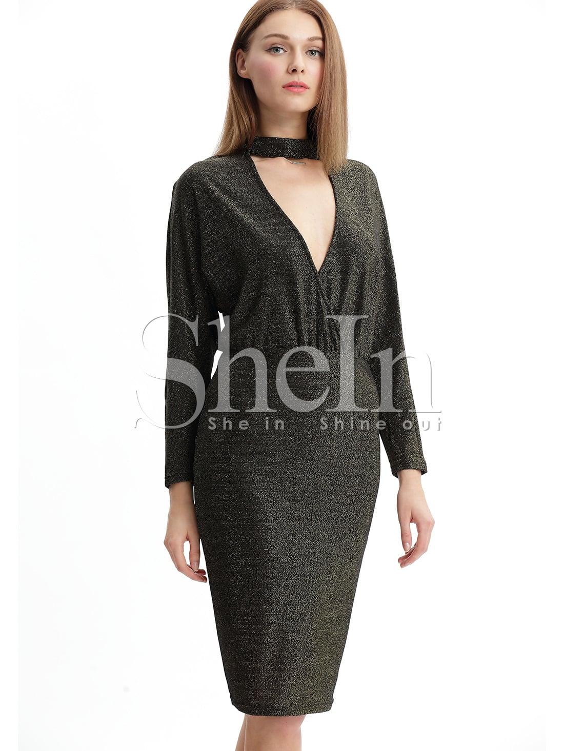 Black Long Sleeve Cut Out DressBlack Long Sleeve Cut Out Dress<br><br>color: Black<br>size: S,XS