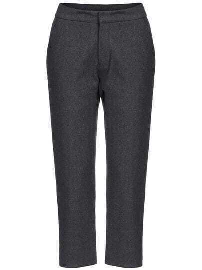 Dark Grey Vintage Harem Pant